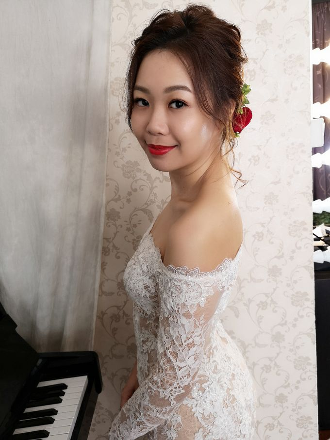 Bride Kyra ❤️ by Shino Makeup & Hairstyling - 004