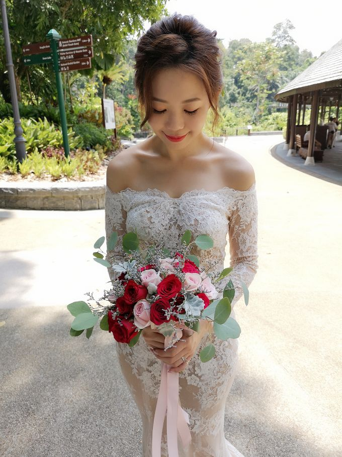 Bride Kyra ❤️ by Shino Makeup & Hairstyling - 005