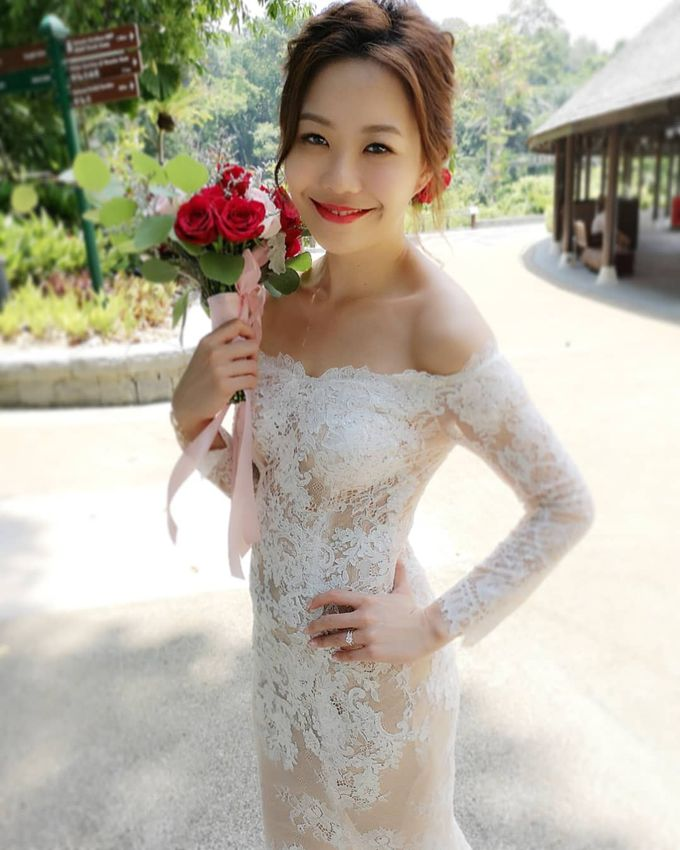 Bride Kyra ❤️ by Shino Makeup & Hairstyling - 001