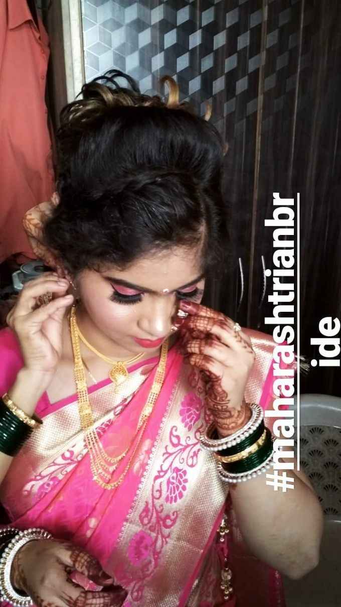 Engagement Makeover by Poojasawantmakeovers - 005