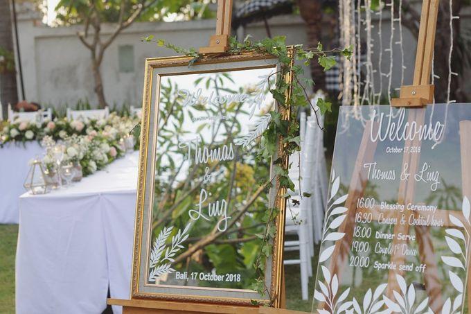 Thomas & Ling Wedding Ceremony&Reception by Bali Becik Wedding - 002