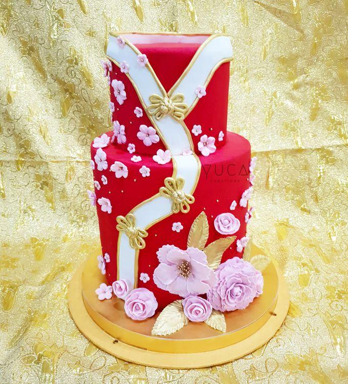 Sangjit cake by YUCA Creations - 003