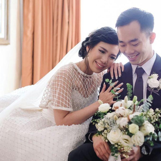 The Wedding of Ms. Jennifer by Tiffany's Flower Room - 003
