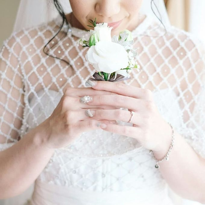 The Wedding of Ms. Jennifer by Tiffany's Flower Room - 001
