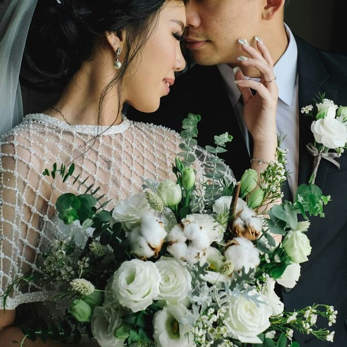 The Wedding of Ms. Jennifer by Tiffany's Flower Room - 002