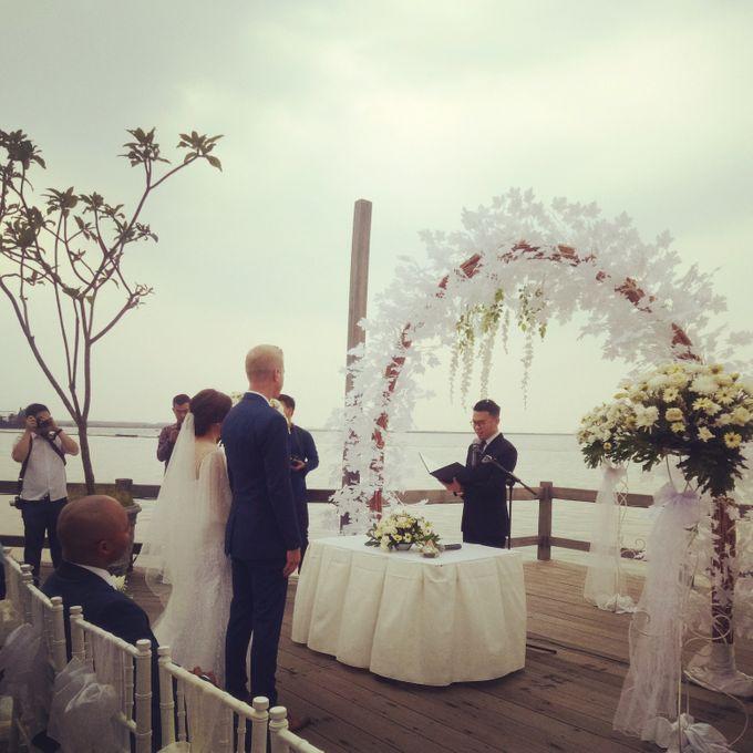 Wedding of Warren & Lucy Katili by William Sam - 005