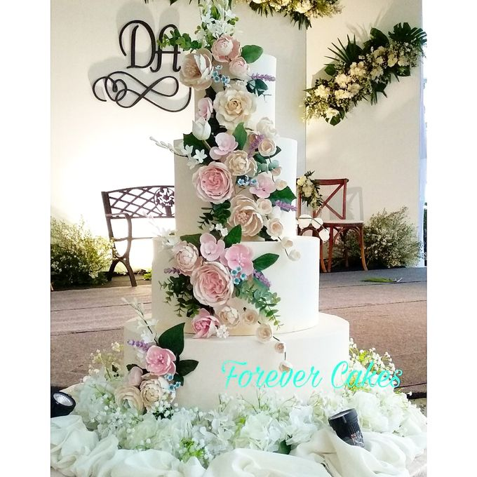 Rustic Wedding Cake by FOREVER CAKE - 009