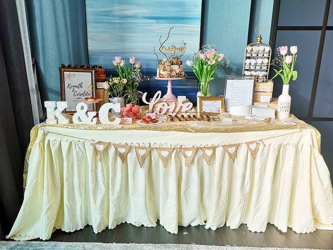 Solemnization Dessert Table by Baker V - 002