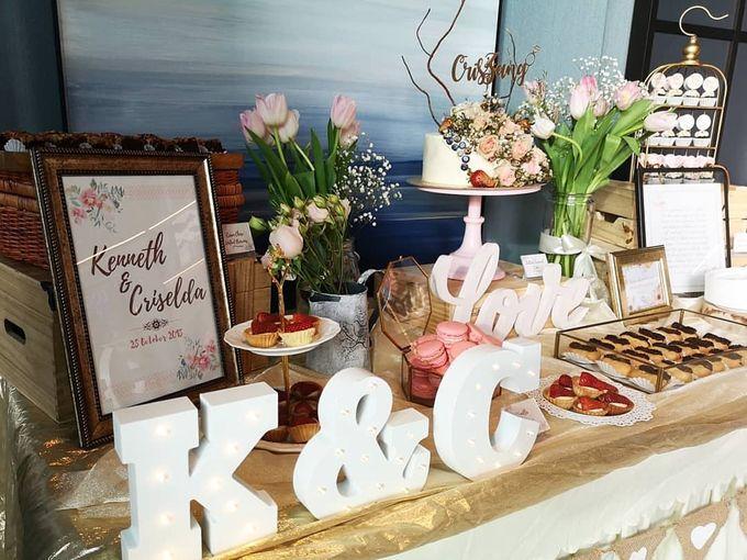 Solemnization Dessert Table by Baker V - 004
