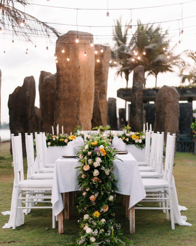 Cherrish & Cyril Wedding Dinner by Bali Becik Wedding - 008
