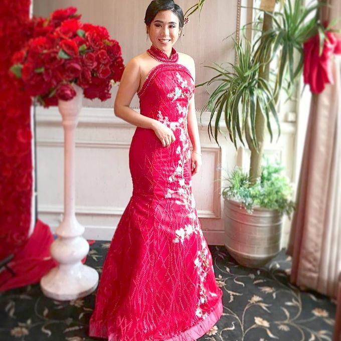 Sangjit Cheongsam Gown by Angela Karina - 002