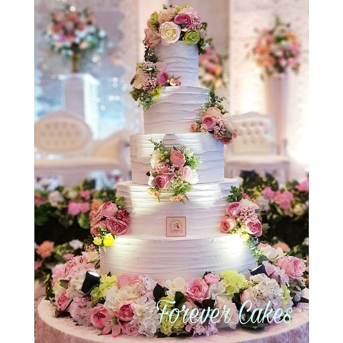 Rustic Wedding Cake by FOREVER CAKE - 007