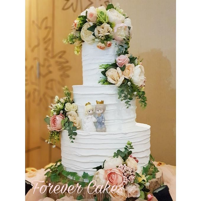 Rustic Wedding Cake by FOREVER CAKE - 006