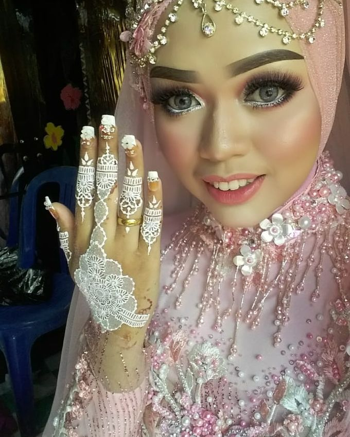 Henna Wedding by Ikkie henna art - 002