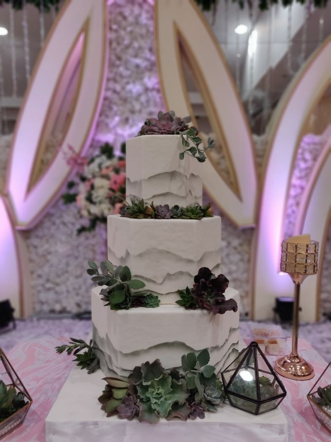 Succulent Beauty by Cakes 'n' Bakes - 001