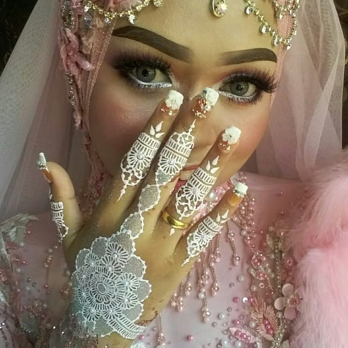 Henna Wedding by Ikkie henna art - 001
