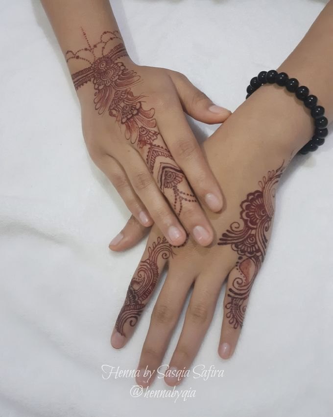 Simple Henna Henna By Qia Bridestory