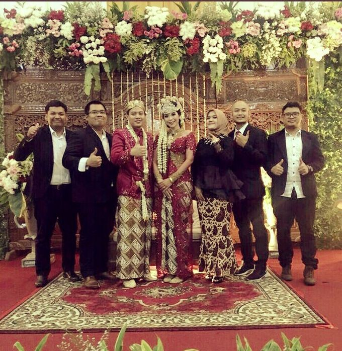 Prilly & Wishal Wedding Ceremony by 1548 band - 007