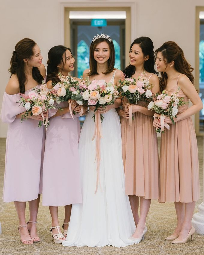 Bride & Bridesmaids by Makeup Entourage by Ethereal - 002
