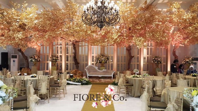 Golden Wedding Anniversary Decoration by FIORE & Co. Decoration - 001