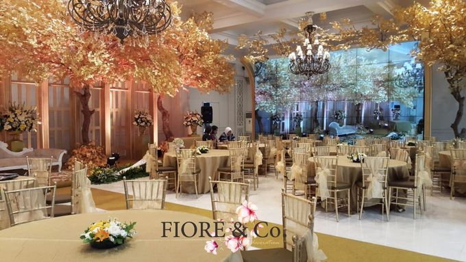 Golden Wedding Anniversary Decoration by FIORE & Co. Decoration - 003