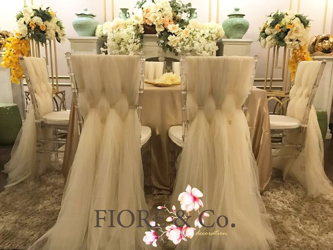 AKAD NIKAH decoration by FIORE & Co. Decoration - 001