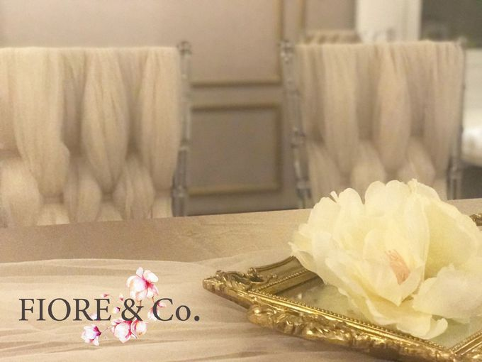 AKAD NIKAH decoration by FIORE & Co. Decoration - 004