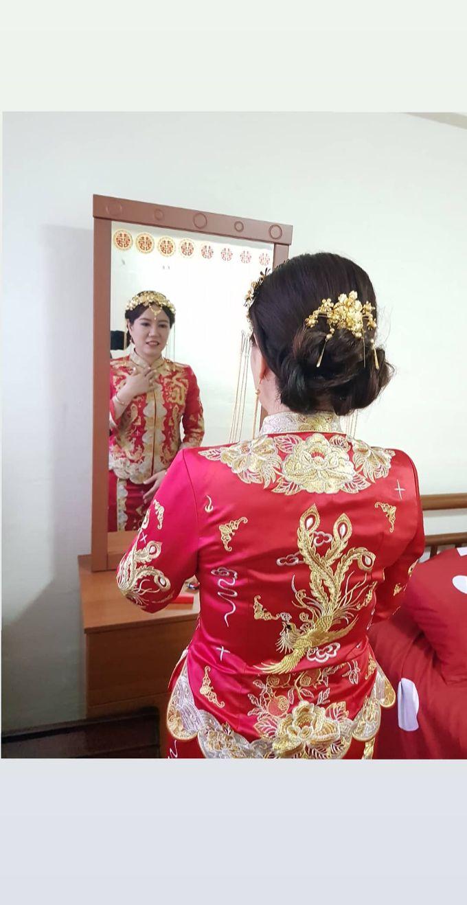 Wedding KUA Traditional Chinese by Angel Chua Lay Keng Makeup and Hair - 002