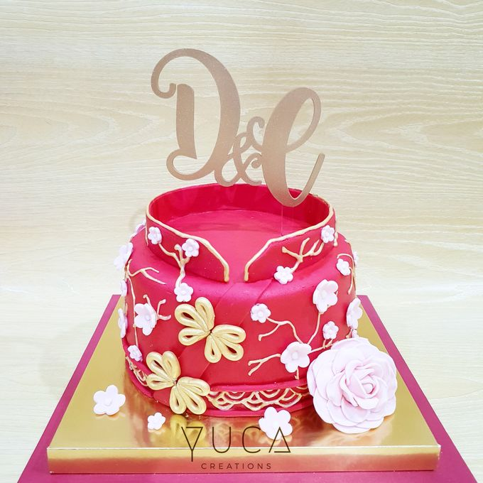 Sangjit cake by YUCA Creations - 004