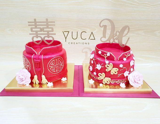 Sangjit cake by YUCA Creations - 006