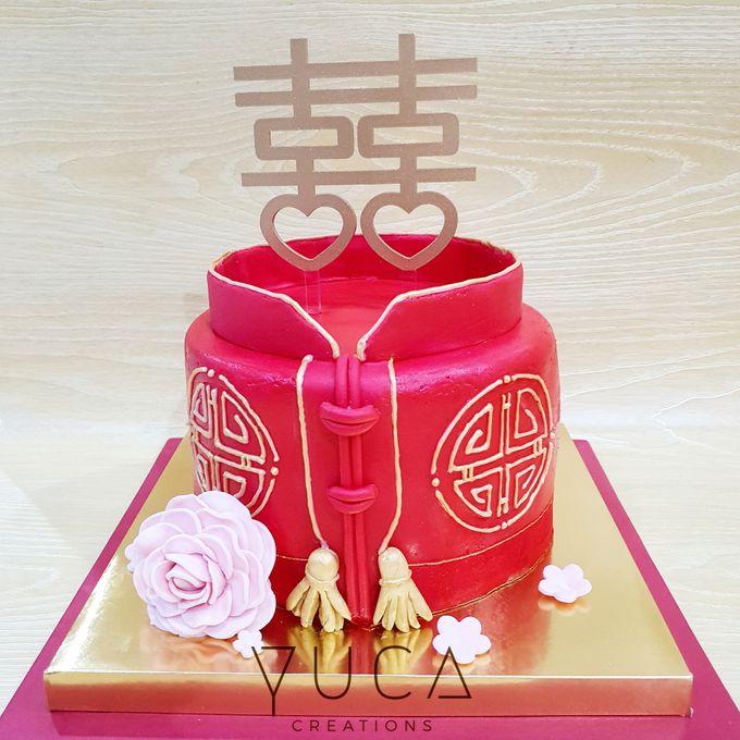 Sangjit cake by YUCA Creations - 005