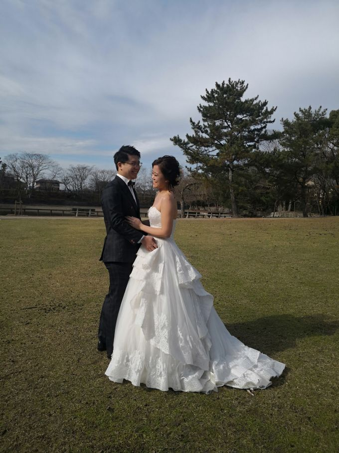 Japan Oversea Prewedding Photo and Video shoot for Zhi Jie & Carine by WillieHaz Hair & Beauty - 002