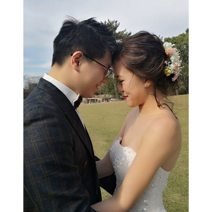 Japan Oversea Prewedding Photo and Video shoot for Zhi Jie & Carine by WillieHaz Hair & Beauty - 010