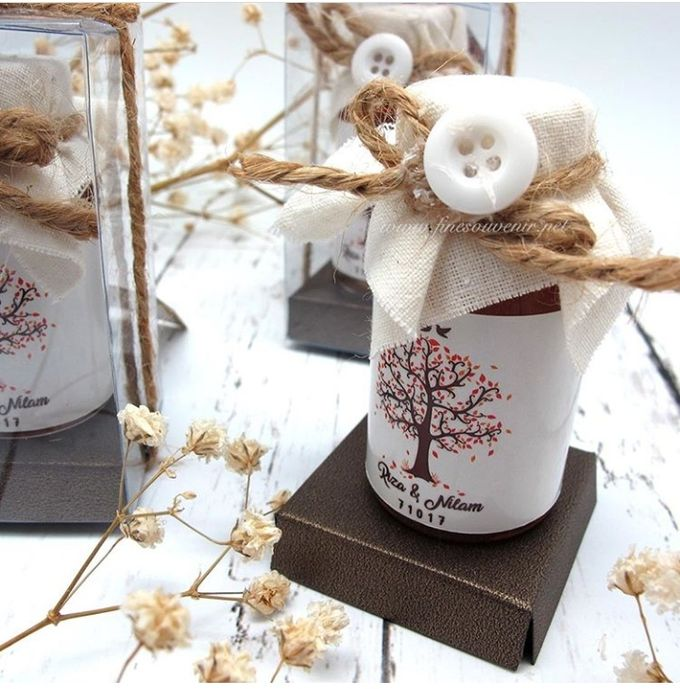 Honey & Clear Box+Personalised Label by Fine Souvenir - 003