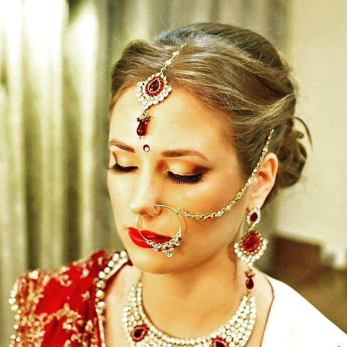 Bridal Makeup by Charites Professional Makeup - 015