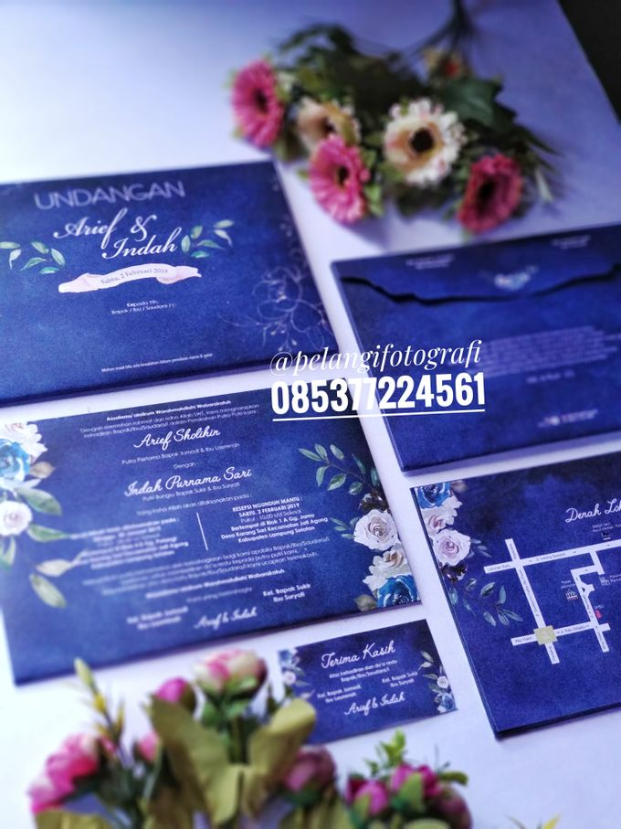 Navy Invitation by Yulisma Amani Photography - 001