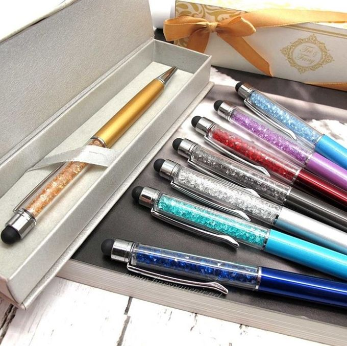 Luxurious Crystal Pen With Smartphone Pointer by Fine Souvenir - 003