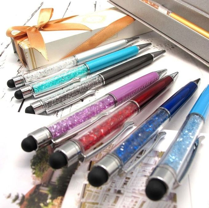 Luxurious Crystal Pen With Smartphone Pointer by Fine Souvenir - 002