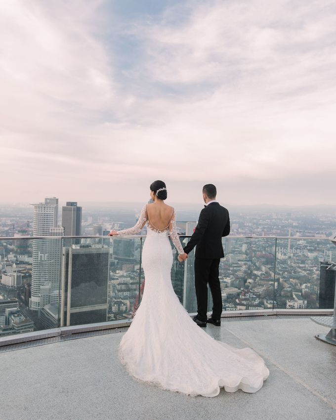 Hochzeit in Frankfurt am Main by Anjeza Dyrmishi photographer - 002