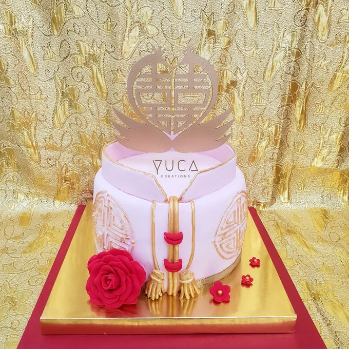 Sangjit cake by YUCA Creations - 008