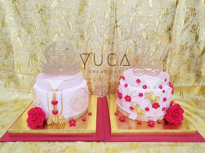 Sangjit cake by YUCA Creations - 009