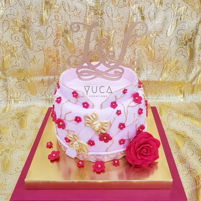 Sangjit cake by YUCA Creations - 007