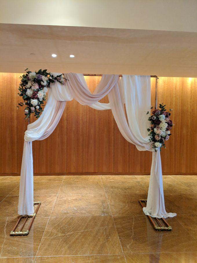 Victorian Garden Theme Wedding by Listoria Floral - 005