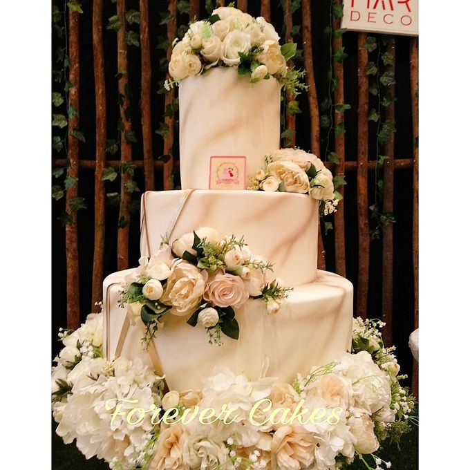 Rustic Wedding Cake by FOREVER CAKE - 008