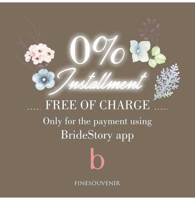 0% Installment Free Of Charge ! by Fine Souvenir - 001