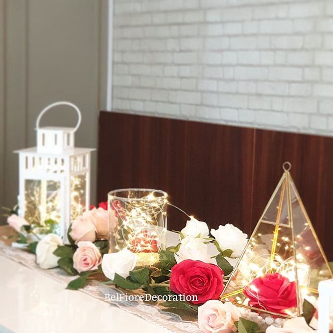 Table Setting Birthday Brunch by Belfiore Florist - 007
