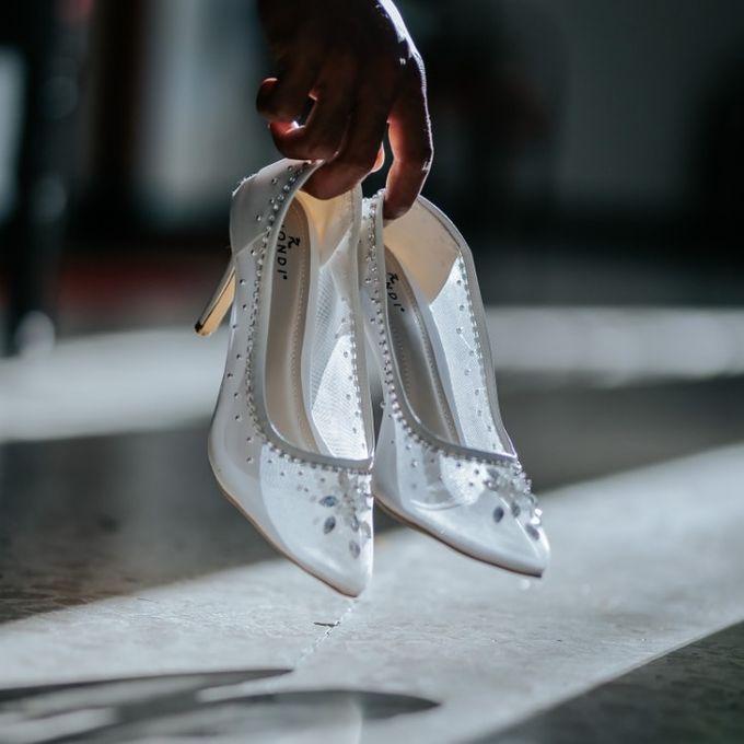 Mrs.Yonnika Wedding by Wedding shoes by Biondi - 001