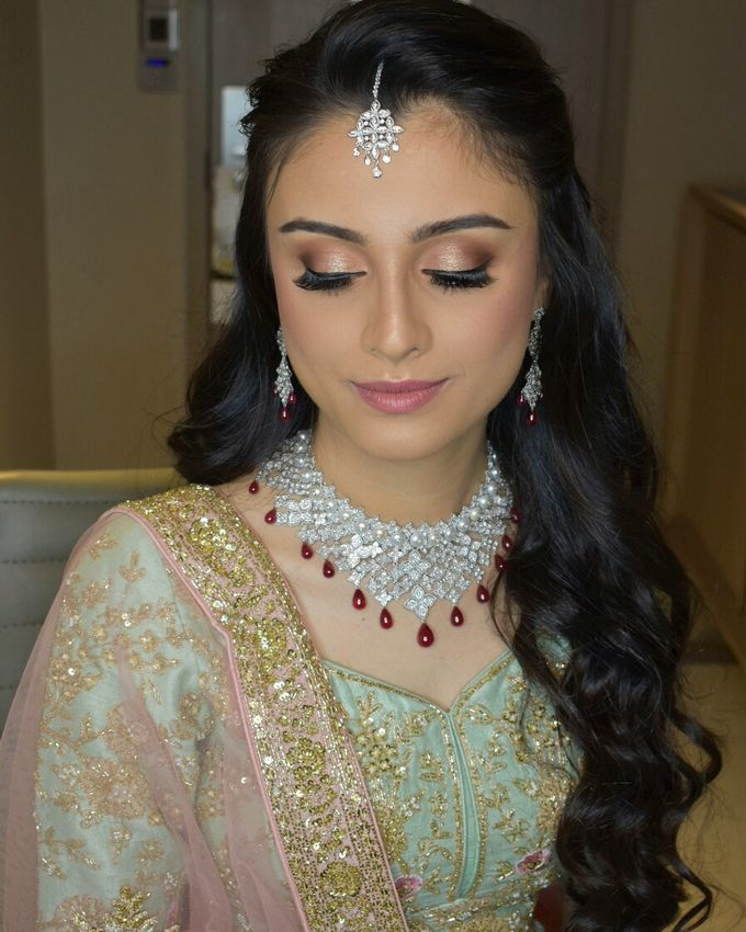 Party Makeup by Makeup by Lavina - 011