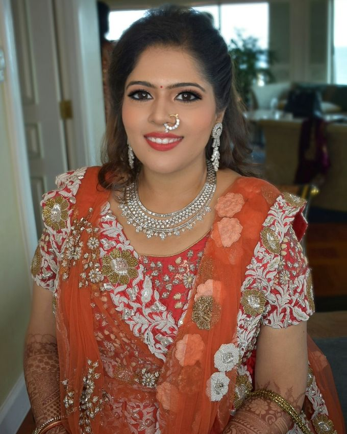 Party Makeup by Makeup by Lavina - 015