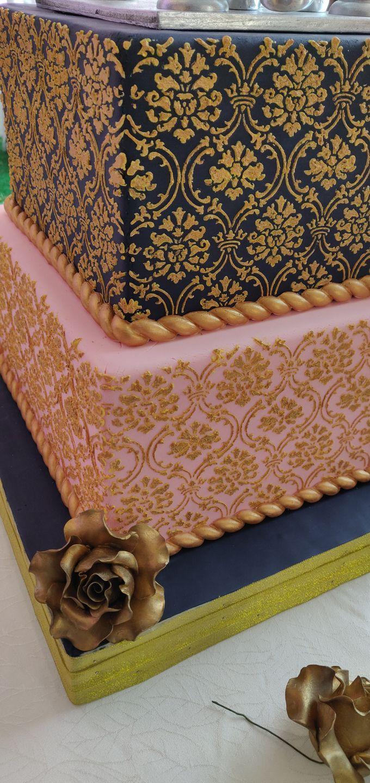 Damask Elegance by Cakes 'n' Bakes - 003